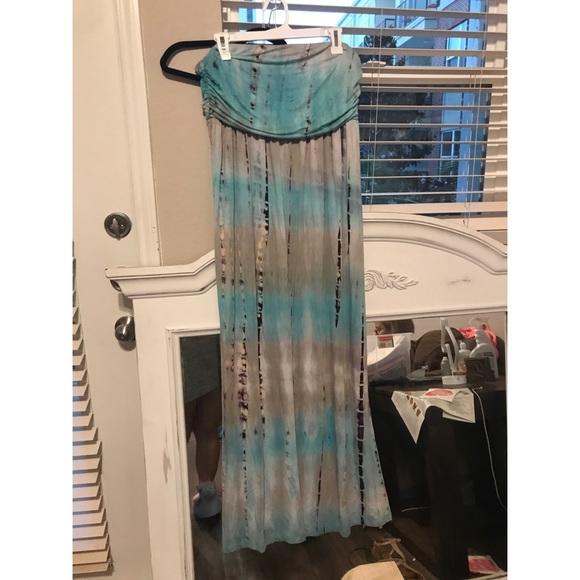Dresses & Skirts - Blue Tye dye maxi